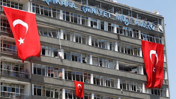 Situación en Ankara tras el golpe fallido de 2016 - Sputnik Mundo