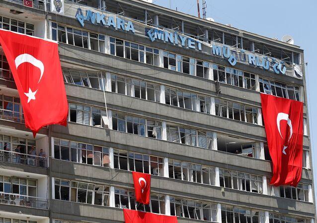 Situación en Ankara tras el golpe fallido de 2016