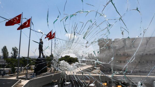El golpe de Estado en Turquía (archivo) - Sputnik Mundo