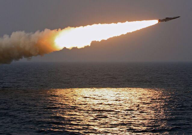Un misil supersónico