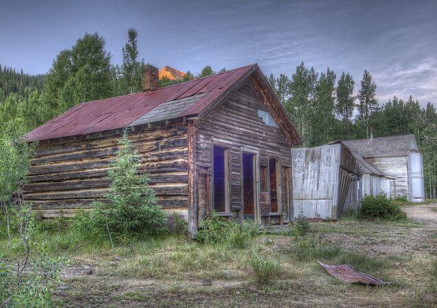 Una ciudad fantasma en Colorado. Archivo.
