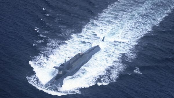 Submarino nuclear chino - Sputnik Mundo