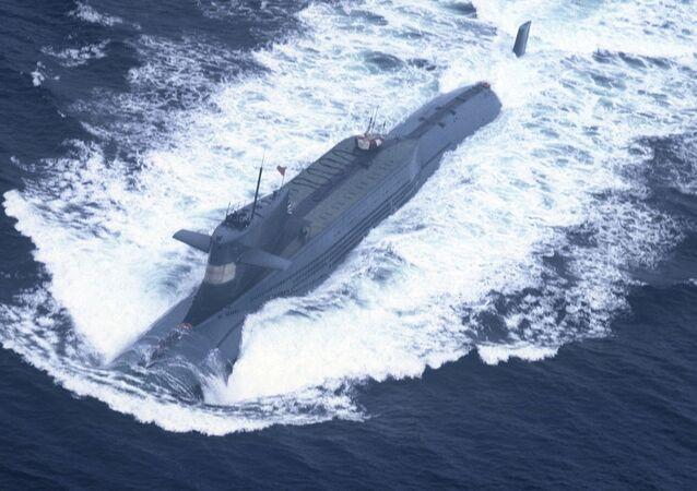 Submarino nuclear chino
