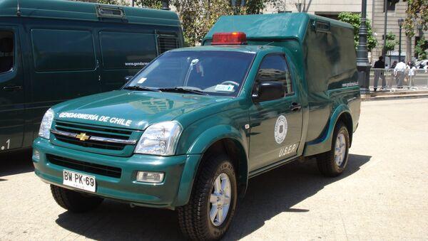 Camioneta de la Gendarmería de Chile - Sputnik Mundo