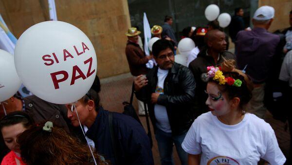 Marcha por la paz en Bogotá - Sputnik Mundo