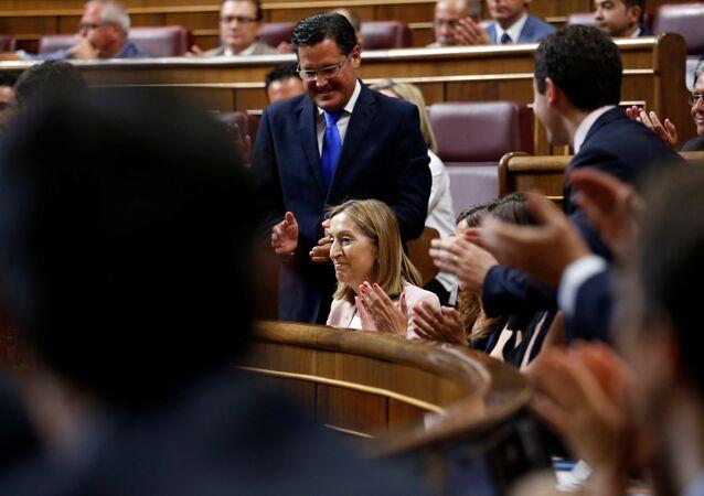 Ana Pastor, presidenta del Congreso español