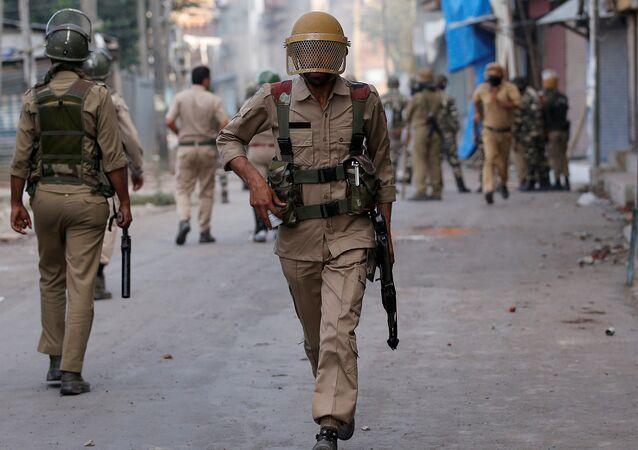 Policía de la India