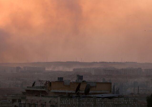 Situación en la ciudad siria de Alepo (archivo)