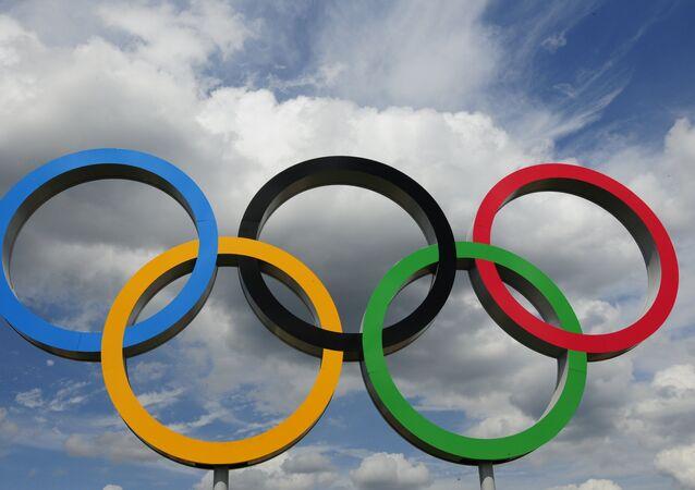 Aros olímpicos (archivo)