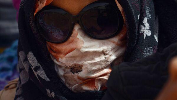 Una mujer saharaui en el campampamento de refugiados Dajla en la provincia de Tinduf - Sputnik Mundo