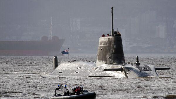 HMS Astute, un submarino nuclear del Reino Unido - Sputnik Mundo