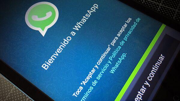 La aplicación WhatsApp - Sputnik Mundo