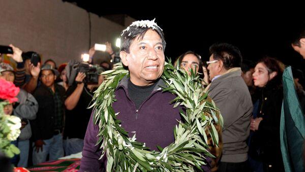 David Choquehuanca, ministro de Exteriores de Bolivia - Sputnik Mundo