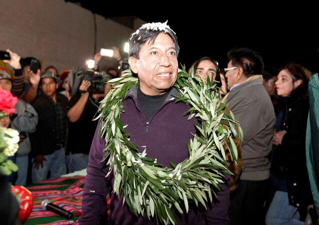 David Choquehuanca, excanciller boliviano