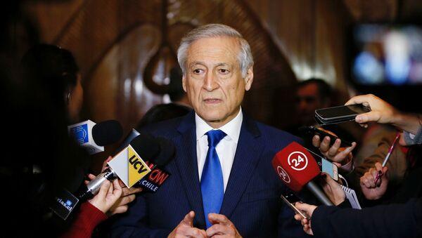 Heraldo Muñoz, ministro de Exteriores de Chile - Sputnik Mundo