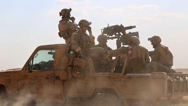 Las fuerzas especiales de EEUU en Siria - Sputnik Mundo