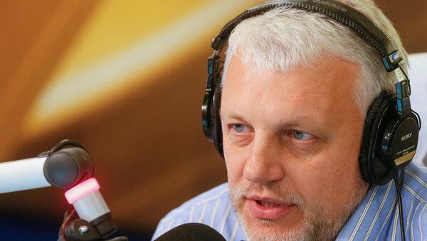 el periodista Pavel Sheremet (archivo) - Sputnik Mundo