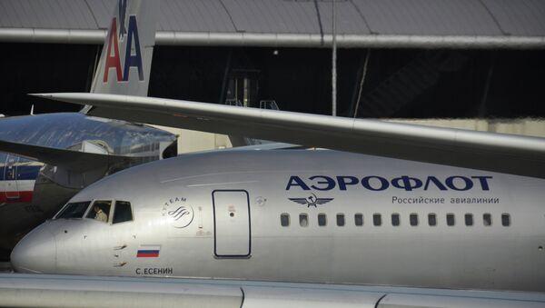 Avión de Aeroflot - Sputnik Mundo