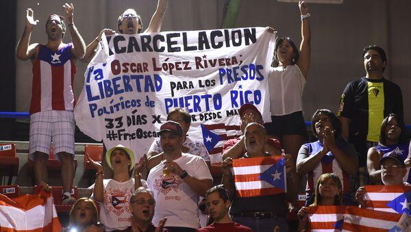 Aficionados al baloncesto puertoriqueños están exigiendo la excarcelación de Oscar López Rivera - Sputnik Mundo