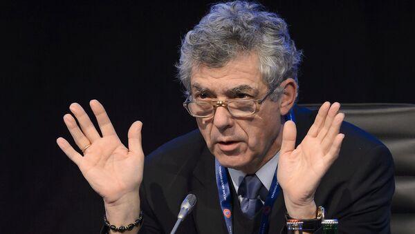 Ángel María Villar, el presidente de la Federación Española de Fútbol - Sputnik Mundo