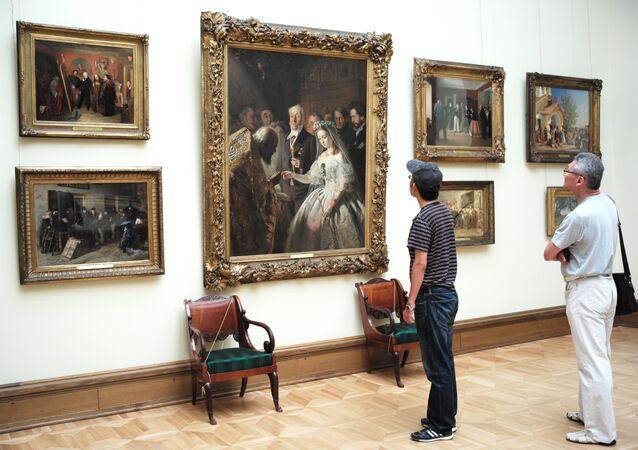 La galería estatal Tretiakov de Moscú