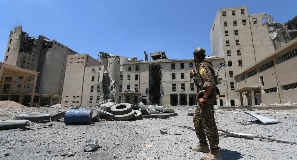 Situación en Manbij, Siria