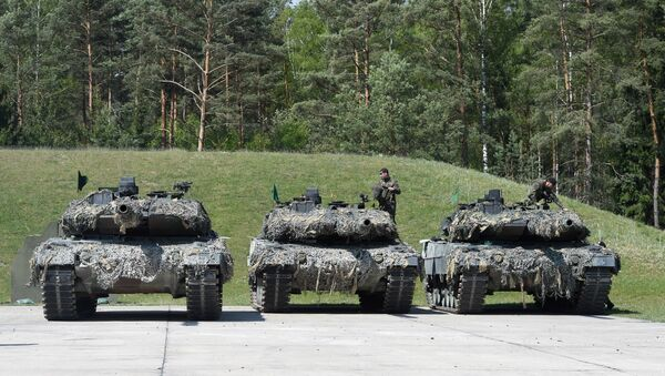 Los tanques alemanes Leopard - Sputnik Mundo