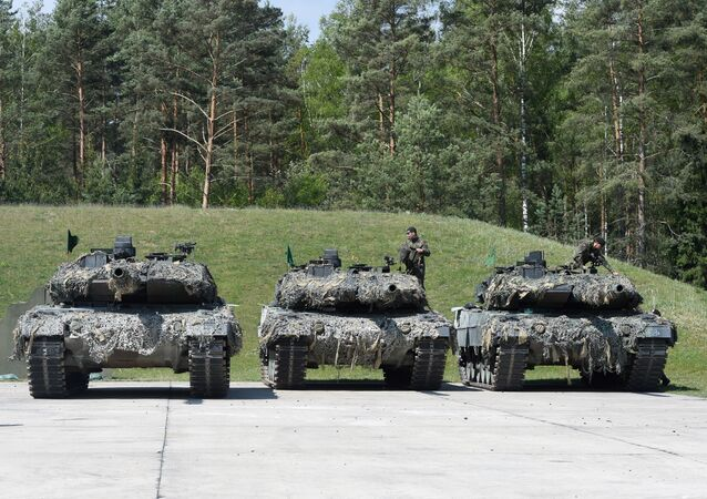 Los tanques alemanes Leopard