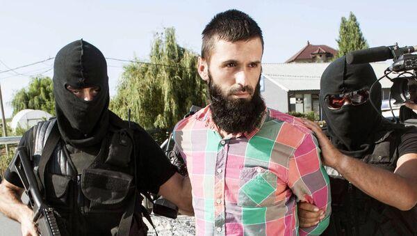 Capturing a jihadist in Kosovo (File) - Sputnik Mundo