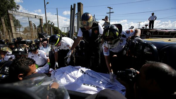 Motín en la Granja de Rehabilitación Pavón, Guatemala - Sputnik Mundo