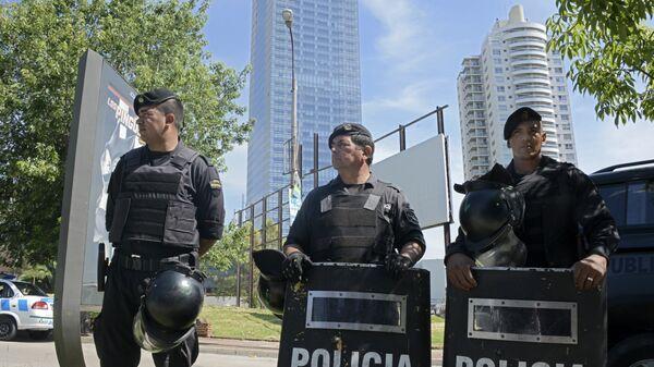 Policía de Uruguay (archivo) - Sputnik Mundo