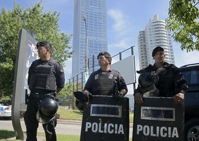 Policía de Uruguay (archivo)