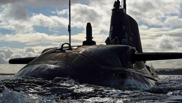 HMS Ambush de la armada de Gran Bretaña - Sputnik Mundo