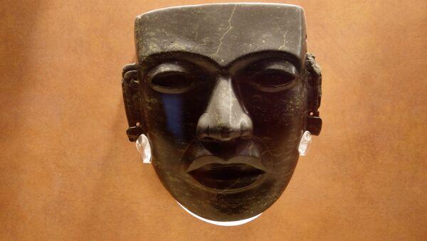 La máscara precolombina - Sputnik Mundo