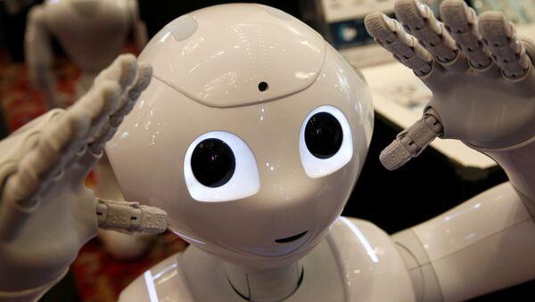 El robot-humanoide Pepper - Sputnik Mundo