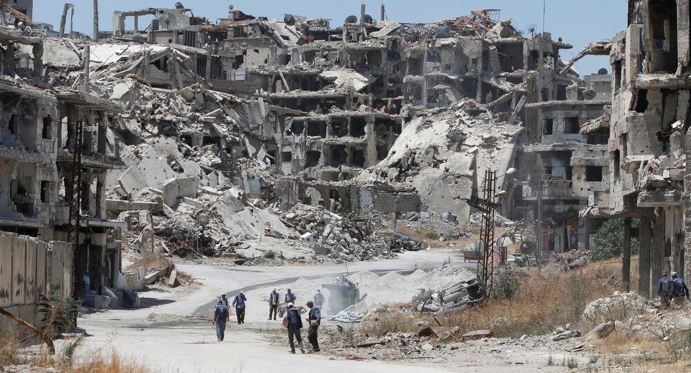 Situación en Homs (archivo)