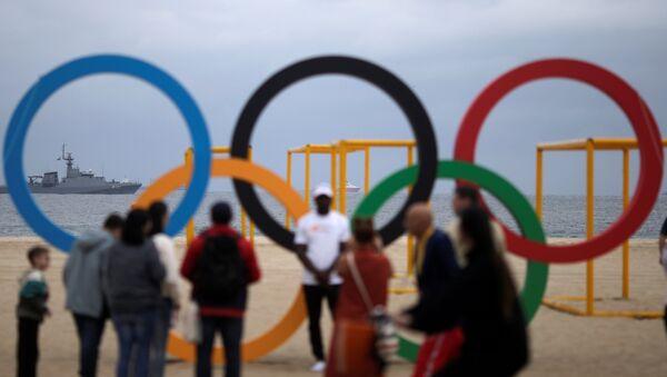 Los aros olímpicos en Río de Janeiro - Sputnik Mundo