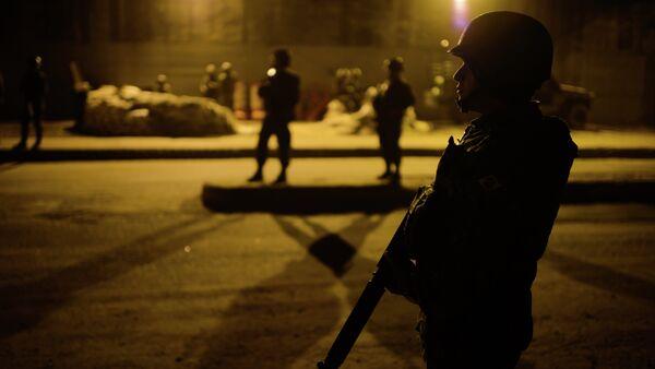 Brazilian police - Sputnik Mundo