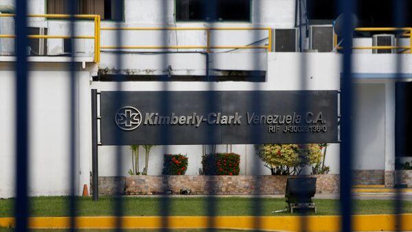 Sede de Kimberly-Clark en Venezuela - Sputnik Mundo