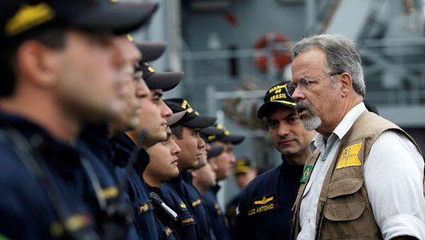 Raul Jungmann, ministro de Defensa de Brasil - Sputnik Mundo