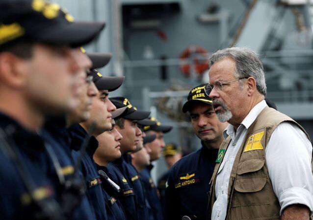 Raul Jungmann, ministro de Defensa de Brasil