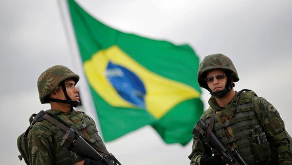 Marines brasileños - Sputnik Mundo