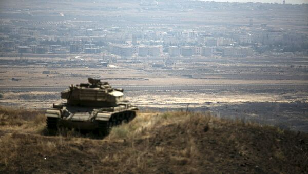 Un tanque israelí (archivo) - Sputnik Mundo
