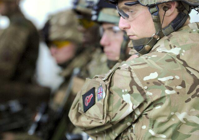 Soldados británicos (archivo)