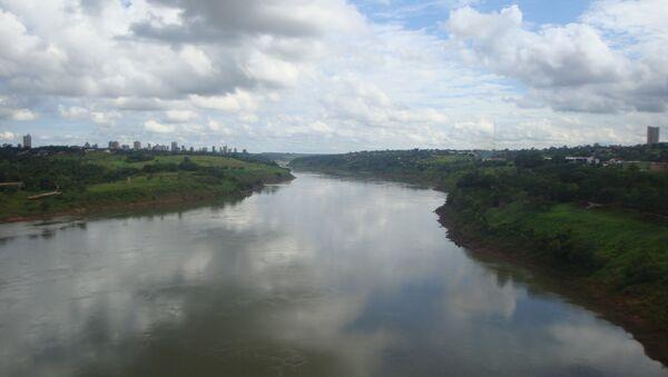 El río Paraná - Sputnik Mundo