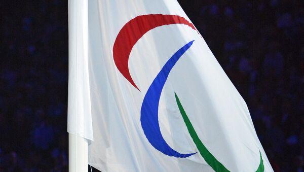 Bandera con el logo de Comité Paralímpico Internacional - Sputnik Mundo