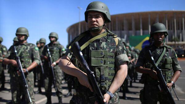 Fuerzas militares de Brasil - Sputnik Mundo