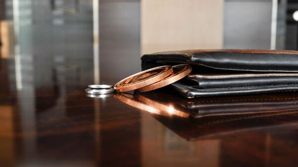 Una billetera (imagen referencial) - Sputnik Mundo