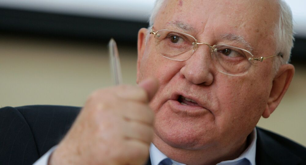 Mijaíl Gorbachov, expresidente de la URSS (archivo)