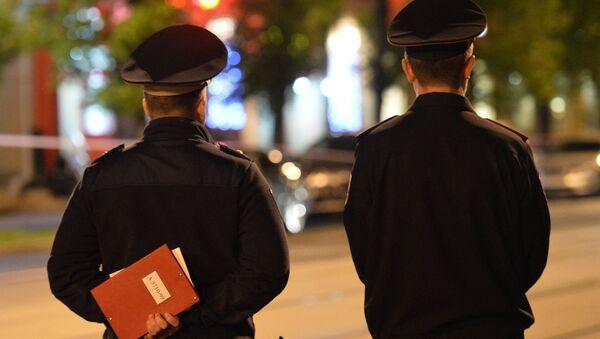 Agentes de policía rusa - Sputnik Mundo